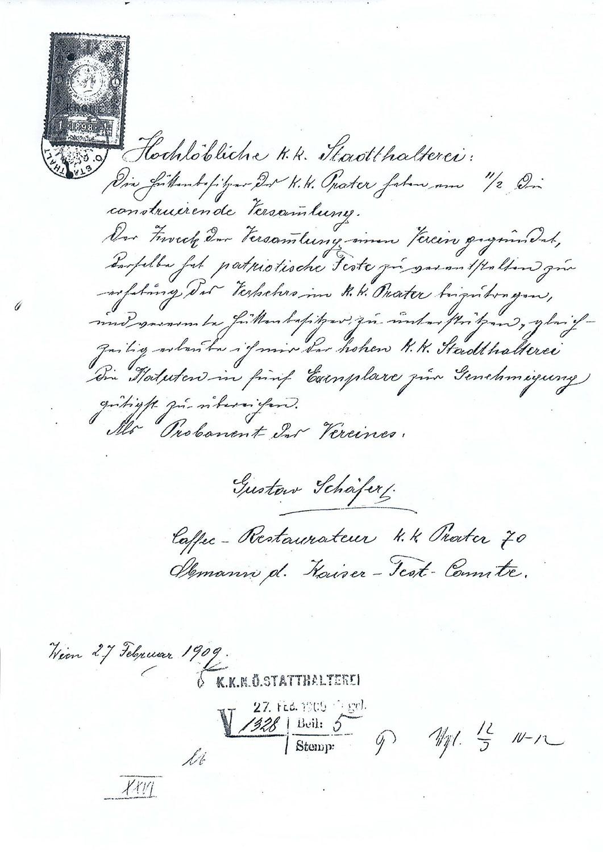 GruendungVerein-1909