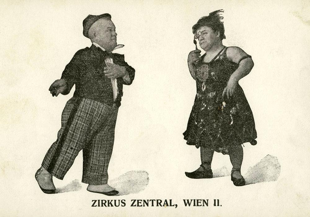Liliputaner-Zirkus Zentral